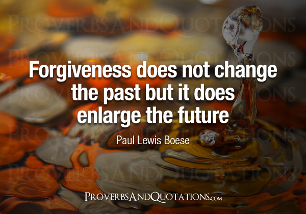 Forgiveness does not change the past, bu by Paul Boese @ Like Success